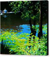 On The Calcasieu Canvas Print by Kevin Lawrence Leveque