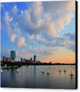 On The River Canvas Print by Rick Berk