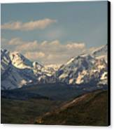 On The Way To Jacksonhole Wy Canvas Print by Susanne Van Hulst
