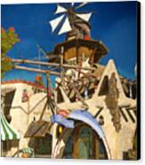 Oomphatz Port Canvas Print by David Francis
