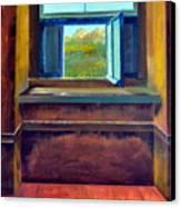 Open Window Canvas Print by Michelle Calkins