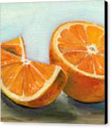 Orange Canvas Print by Sarah Lynch