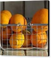 Orangey Canvas Print by Dan Holm