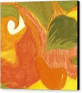 Organic Conversation Canvas Print by Anne-Elizabeth Whiteway