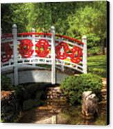 Orient - Bridge - Tranquility Canvas Print by Mike Savad