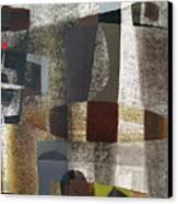 Os1957bo016 Abstract Landscape Of Potosi Bolivia 20.3 X 28.9 Canvas Print by Alfredo Da Silva