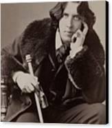 Oscar Wilde, 1854-1900 Irish Writer Canvas Print by Everett