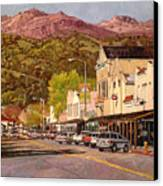 Our Town Canvas Print by Paul Youngman