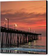 Outer Banks Sunrise Canvas Print by John Greim