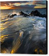 Overflow Canvas Print by Mike  Dawson