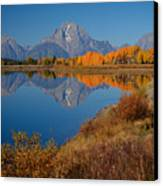 Oxbow Bend Canvas Print by Idaho Scenic Images Linda Lantzy