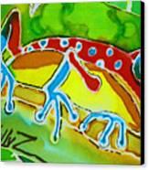Pa Froggy Canvas Print by Kelly     ZumBerge