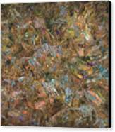 Paint Number 18 Canvas Print by James W Johnson
