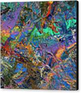 Paint Number 28 Canvas Print by James W Johnson