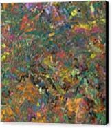 Paint Number 29 Canvas Print by James W Johnson
