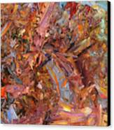 Paint Number 43b Canvas Print by James W Johnson