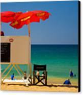 Palm Beach Dreaming Canvas Print by Avalon Fine Art Photography