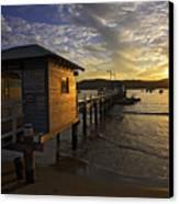 Palm Beach Sunset Canvas Print by Avalon Fine Art Photography