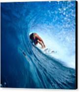 Pancho In The Tube Canvas Print by Vince Cavataio - Printscapes