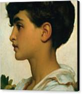 Paolo Canvas Print by Frederic Leighton