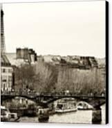 Paris Days Canvas Print by John Rizzuto