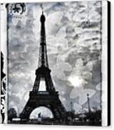 Paris Canvas Print by Marianna Mills