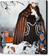 Parisian Style, 1921 Canvas Print by Granger