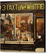 Paxton Whitfield .london Canvas Print by Tomas Castano
