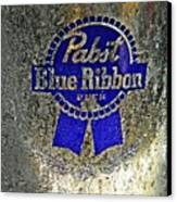 Pbr  Bucket O Beer  Canvas Print by Chris Berry