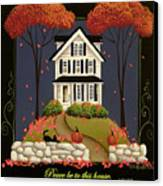 Peace Be To This House Canvas Print by Catherine Holman