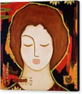Peace Messenger Canvas Print by Gloria Rothrock