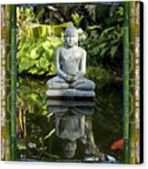 Peaceful Reflection Canvas Print by Bell And Todd