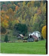 Pennsylvania Farm Canvas Print by Tony  Bazidlo