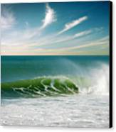 Perfect Wave Canvas Print by Carlos Caetano