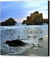 Pfeiffer Beach Evening - Big Sur Canvas Print by Charlene Mitchell