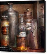Pharmacy - That's The Spirit Canvas Print by Mike Savad