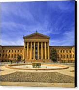 Philadelphia Art Museum Canvas Print by Evelina Kremsdorf