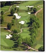 Philadelphia Cricket Club Militia Hill Golf Course 5th Hole Canvas Print by Duncan Pearson