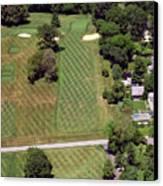 Philadelphia Cricket Club St Martins Golf Course 1st Hole 415 W Willow Grove Avenue Phila Pa 19118 Canvas Print by Duncan Pearson
