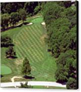 Philadelphia Cricket Club St Martins Golf Course 4th Hole 415 W Willow Grove Ave Phila Pa 19118 Canvas Print by Duncan Pearson