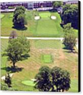 Philadelphia Cricket Club St Martins Golf Course 9th Hole 415 W Willow Grove Ave Phila Pa 19118 Canvas Print by Duncan Pearson