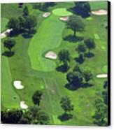Philadelphia Cricket Club Wissahickon Golf Course 13th Hole Canvas Print by Duncan Pearson