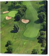 Philadelphia Cricket Club Wissahickon Golf Course 17th Hole Canvas Print by Duncan Pearson