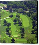Philadelphia Cricket Club Wissahickon Golf Course 1st And 18th Holes Canvas Print by Duncan Pearson