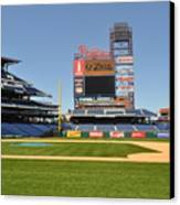 Philadelphia Phillies Stadium  Canvas Print by Brynn Ditsche