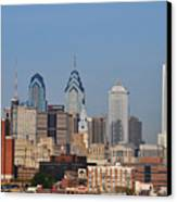 Philadelphia Standing Tall Canvas Print by Simon Wolter