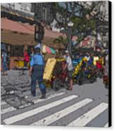 Philippines 906 Crosswalk Canvas Print by Rolf Bertram