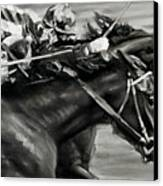 Photo Finish Canvas Print by Thomas Allen Pauly