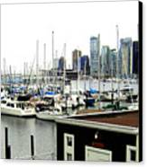 Picturesque Vancouver Harbor Canvas Print by Will Borden