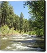 Piedra River Canvas Print by Eric Glaser